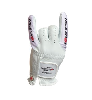 NICE SHOT GOLF GLOVE ILCORONA-MRH/ML (6)